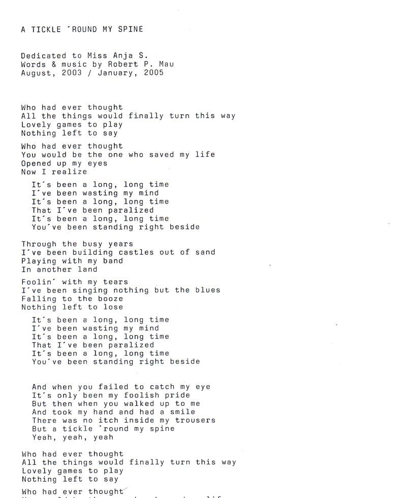 Lyric if you go away lyrics : THE BUT - fake sixties unplugged, Kammer-Beat aus Leipzig - Lyrics